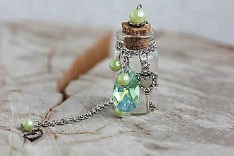 Drobnosti - magická lahvička na drobnosti či na mléčné zoubky - 8372404_