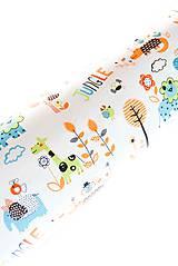 Úžitkový textil - _HAJA & Farebné ZOO & oranžová... 170 cm - 8376877_