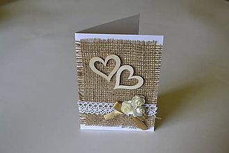 Papiernictvo - pohľadnica jutová - 8378364_