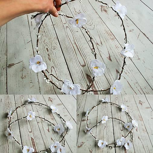 Svadobná tiara ORCHIDEA   katusha.handmade - SAShE.sk - Handmade ... 8abead1f344