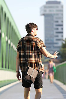 Tašky - Malá taška GREY - 8376994_