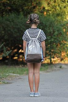 Detské tašky - Batoh zajko BEIGE - 8377020_