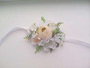 """Náramky - Kvetinový náramok na ruku """"...ráno s úsmevom..."""" - 8377566_"""
