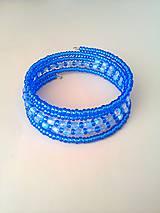 Náramky - náramok modrá anap - 8376277_