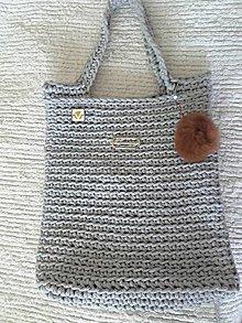 Veľké tašky - HOBO Bag šedá - 8376601_