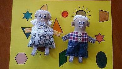 Magnetky - Babka a Dedko 2 - 8376996_