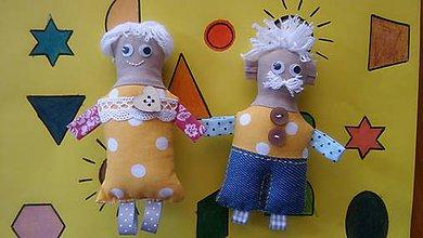 Magnetky - Babka a Dedko 3 - 8377036_