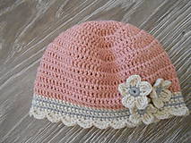 Háčková čiapka pre bábo