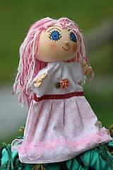 Maňuška. Krásna panenka Ruženka.