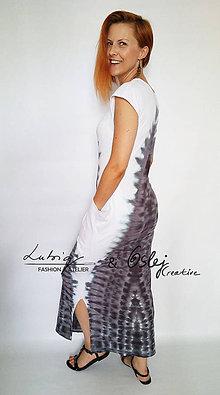 Šaty - Dlhé šaty - 8377510_