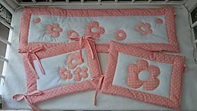 Textil - Súprava do postieľky -apricot - 8380316_