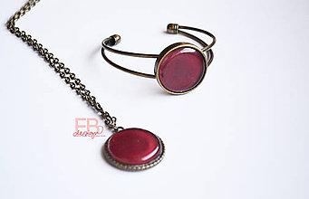 Sady šperkov - Dark fruit - 8380587_