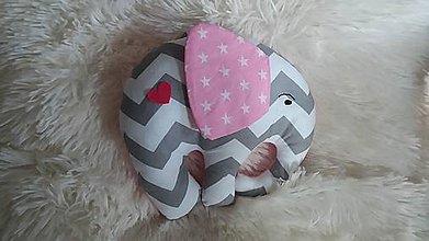 Hračky - Slon ušatý - 8381169_