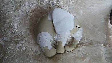 Hračky - Slon ušatý - 8381227_