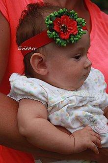 Detské doplnky - čelenka pre bábätko - 8381188_