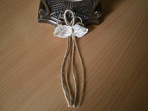 Pierka - vintage svadobné pierko XII. - 8380151_