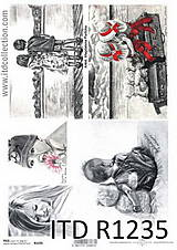 Papier - Ryžový papier Deti - 8379015_