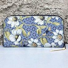 Peňaženky - Indigo - zipová peněženka - 8380374_