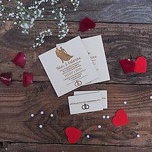 Darčeky pre svadobčanov - SVADOBNÉ OZNÁMENIE - PA - 8379218_