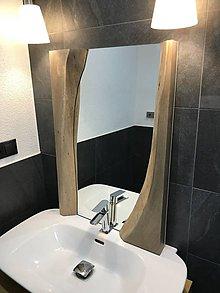 Zrkadlá - Zrkadlo s dreveným rámom - 8378945_