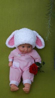 Detské čiapky - Čiapka pre malého zajačika :) - 8380906_