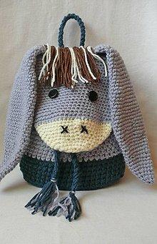 Detské tašky - Detský batôžtek - somárik - 8381197_