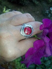 Prstene - Prsteň s jaspisom regalit - 8381101_