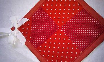 Úžitkový textil - Chňapka patchwork - 8380181_