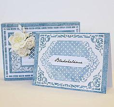 Papiernictvo - Svadobná pohľadnica \