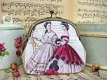 Kabelky - Kabelečka Anglické dámy - 8380817_