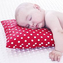 Textil - Prvý vankúšik mojkáčik - 8382225_