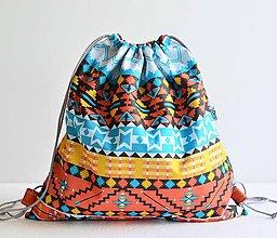 Batohy - Sunnylife (indian) šnúrkový vak - 8382522_