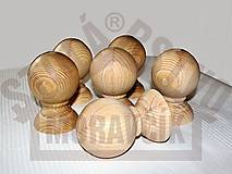 Dekorácie - Sústružená ozdobná guľa na zábradlie - 8383337_