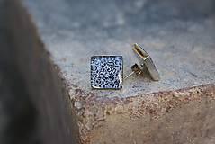 Náušnice - Náušnice živicové Ornamenty - 8383540_