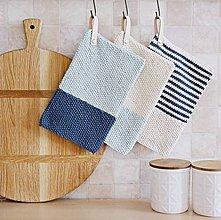 Úžitkový textil - Chňapky EXTRA hrubé - námornícke  - 8383799_