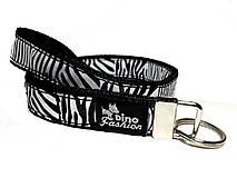 Kľúčenky - Kľúčenka Zebra (40 cm) - 8383346_