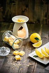 Svietidlá a sviečky - Vonný vosk - Citrón - 8382088_