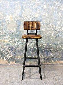 Nábytok - Barová stolička Ravelin - 8383703_