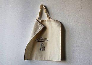 Nákupné tašky - bedľa. - 8382836_