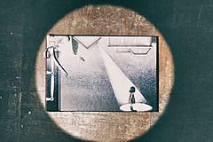 Fotoalbum klasický, polyetylénový obal s potlačou ,,Námesačná  bez mesiaca,,