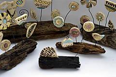 Socha - Keramická dekorácia Lúčne kvety - 8382247_