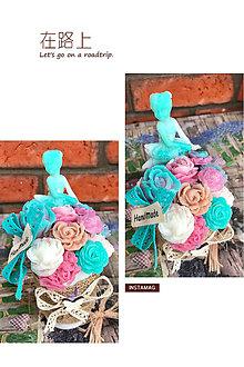 Dekorácie - Mydlová kytica - 8383324_