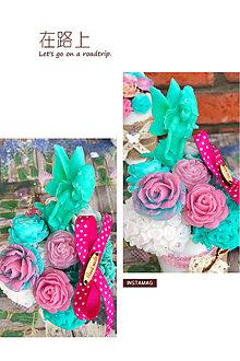 Dekorácie - Mydlová kytica - 8383325_
