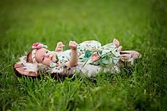 Detské doplnky - Čelenka nielen na fotenie LÚKA - 8385729_