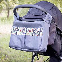 Textil - Tašky doladené k podložke do kočíka - 8385798_