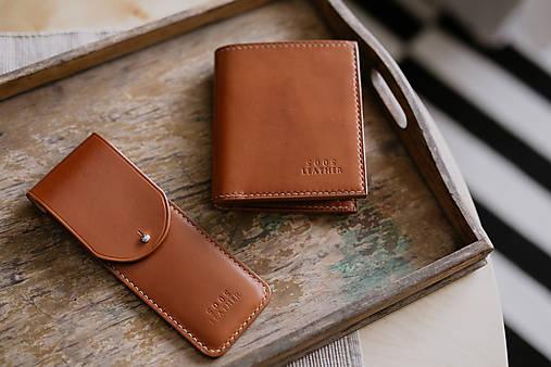 Doplnky - Pen case - Light brown - 8384868_
