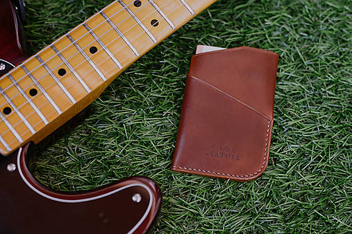 Tašky - Beluga Card Case - Light brown - 8385127_