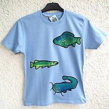 Detské oblečenie - Dětské tričko Rybolov - 8385458_