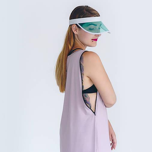 Šaty - Šaty so zipsom Violet - 8386313_