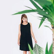 Šaty - Šaty so zipsom Black - 8386292_